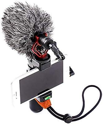 Mouriv PVS1 - Kit de vídeo para Smartphone con micrófono cardioide ...