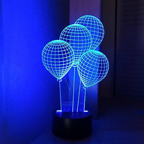 Neon Color Sculpture Light (CHIMAERA 3D Magical Optical Illusion Balloons Lamp)