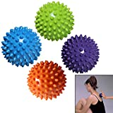 Physical Fitness Exercise Balance Ball Point Massage Stepping Stones Balance Pods Yoga Balls, Siomentdi 7.5cm Hand Massage Ball Trigger Point Fitness Yoga Ball Muscle Relief Tool