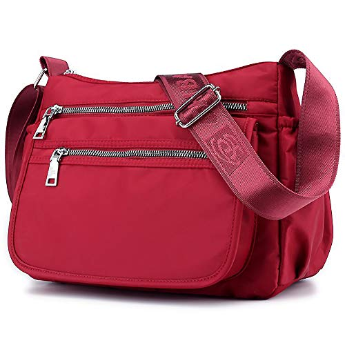 b67da92bb65d ZOCAI Nylon Travel Crossbody Purse Small Shoulder Bag Casual Women ...