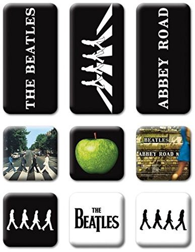 Price comparison product image Abbey Road Mini Fridge Magnets