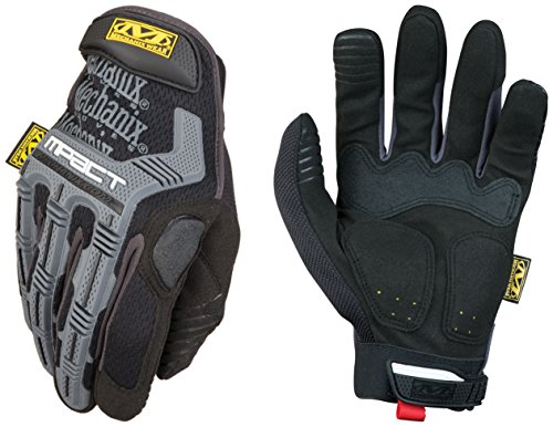 Mechanix Wear MPT-58-009 M-Pact Gloves, Black, Medium