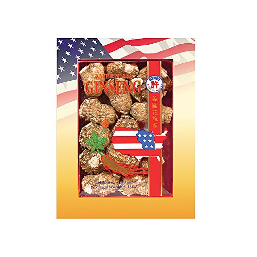 Hsu's Ginseng Pearl American Ginseng (4 oz box, Extra Large)