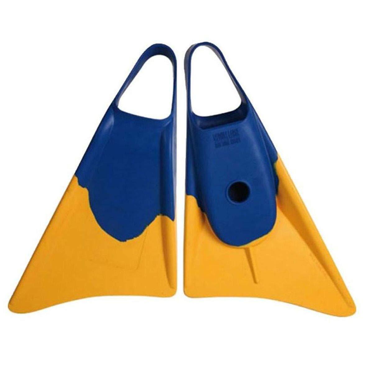 5 amarillo azul Weapon bodyboard ALETA M 39-40