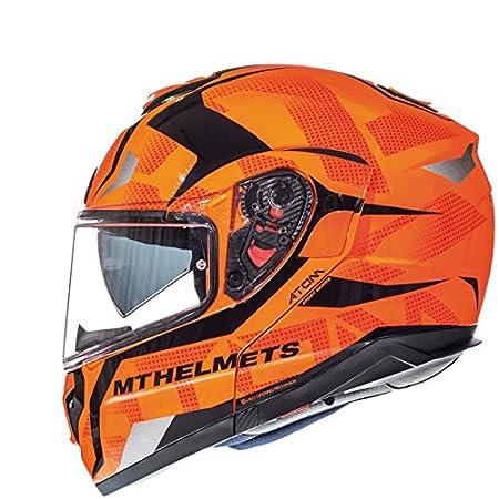 Helmet Mt Atom SV Divergence Orange Fluor XXL MT HELMETH MT06