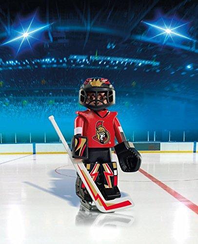 92183392f21 SHOPUS   PLAYMOBIL NHL Ottawa Senators Goalie
