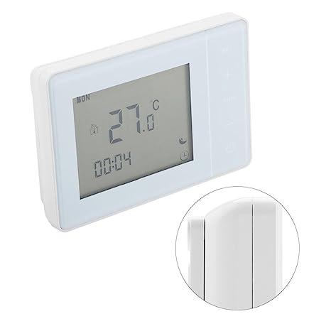 HY01RF 220V Inalámbrico RF Digital Termostato de Calefacción Controlador de Temperatura: Amazon.es: Industria, empresas y ciencia