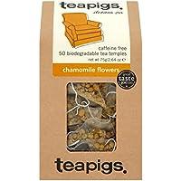 teapigs Chamomile Flowers Tea, 50 Count