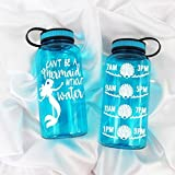 Can't be a mermaid without water ™ 32oz water bottled style 4
