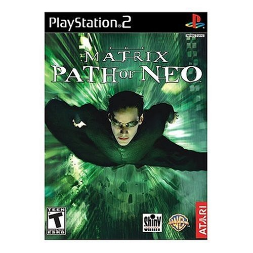 Ps2 Games Dvd - The Matrix: Path of Neo - PlayStation 2