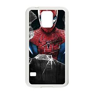 Happy Spiter man Fashion Comstom Plastic case cover For Samsung Galaxy S5