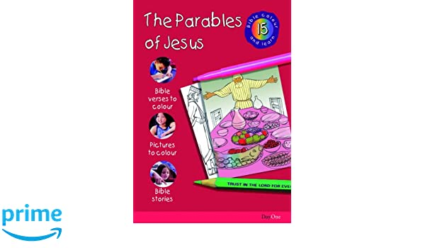 Bible Colour And Learn 15 Parables Of Jesus Various 9781903087473 Amazon Books