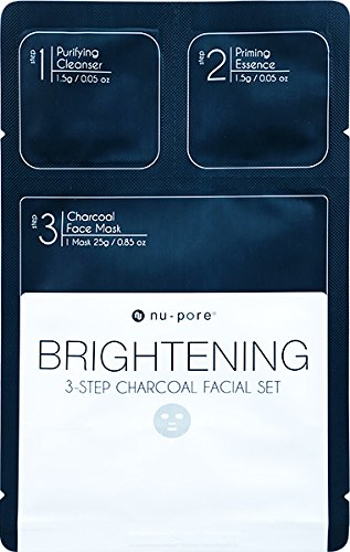 Exchange Unit - Brightening 3-Step Facial Set, Charcoal - Bulk Case of 48 units
