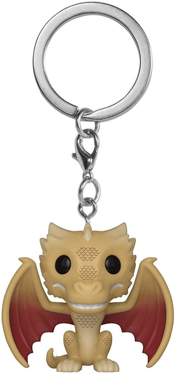 Funko Pop! Keychain: Game of Thrones - Regular Viserion, Multicolor