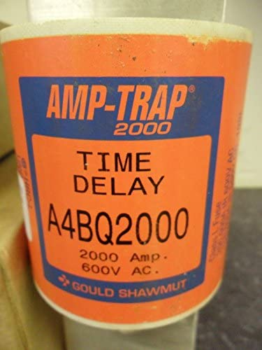 Details about  /Gould Shawmut A4BQ2000 Amp-Trap Time Delay Fuse