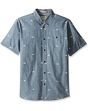 Waterman Men's Post Surf Woven Top