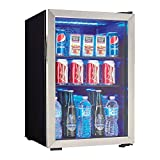 Danby 95 Can 2.6 Cu. Ft. Beverage Center Soda & Beer Mini Fridge...
