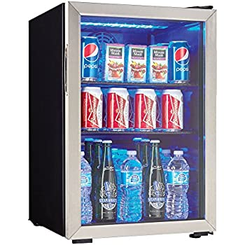 Amazon Com Danby 120 Can Beverage Center Stainless Steel