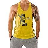 InleaderAesthetics Men's Gym Bodybuilding Stringer Muscle Cotton Tank Tops