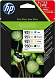 HP 950XL/951XL ink cartridge black and tri-colour high capacity combo-pack