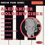 Russian Piano School Vol%2E 1%3A Alexand