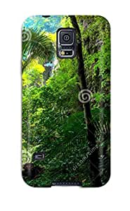 Hot FhoPbEm2121lLMbR Exotic Jungle Tpu Case Cover Compatible With Galaxy S5
