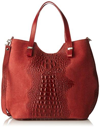 Chicca Borse 80046-1, Sacs bandoulière Rouge (Rosso)