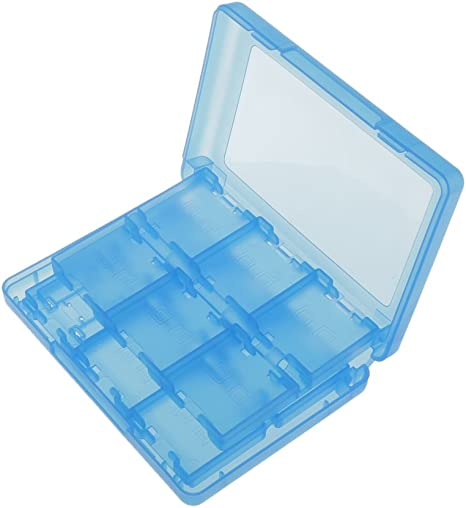 28-in-1 Caja Almacenaje de Tarjeta Juego Plástico Protector para Nintendo 3DS: Amazon.es: Videojuegos