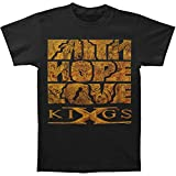 Kings X Men's Faith Hope Love T-shirt XX-Large Black