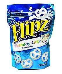 Flipz Birthday Cake Covered Pretzels 5 oz / 6 ct