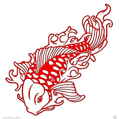 Koi Fish Japan Chinese Wax Seal Stamp: Toys & Games