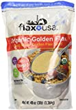 Flax USA Organic Golden Flax Cold Milled Golden Flax Seed, 48 Ounce