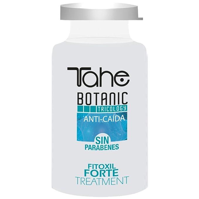 Tahe Botanic Tricology Fitoxil Forte Tratamiento Anticaída del Cabello/Ampollas para Caída Cabello/Cabellos Castigados Con Células Madre Vegetales Activas, ...