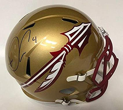 d9889d69c6f Image Unavailable. Image not available for. Color  DALVIN COOK AUTOGRAPHED  FLORIDA STATE ...