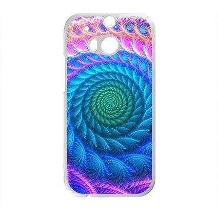 Amazon.com: Artistic aesthetic fractal fashion phone case ...