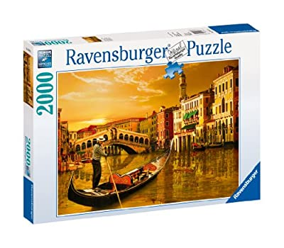 Ravensburger Gondolier In Venice - 2000 Pieces Puzzle from Ravensburger
