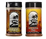 Everglades Seasoning Cactus Dust + Hot and Spicy Heat 2 Pack Gluten Free No MSG