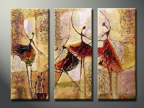 Large Canvas Prints Oil Painting Digital Wall Art Modern Abstract Set Unframed