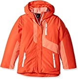Spyder Girl's Reckon 3-In-1 Jacket, Burst/Coral, Medium