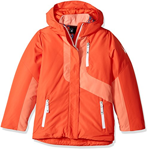 Spyder Girl's Reckon 3-In-1 Jacket, Burst/Coral, Small by Spyder
