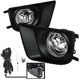 Remarkable Power FL7117-2012-15 Toyota Tacoma Chrome Black Bezel Fog Lights Kit