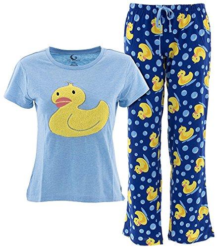 Yellow Womens Pajamas - 9