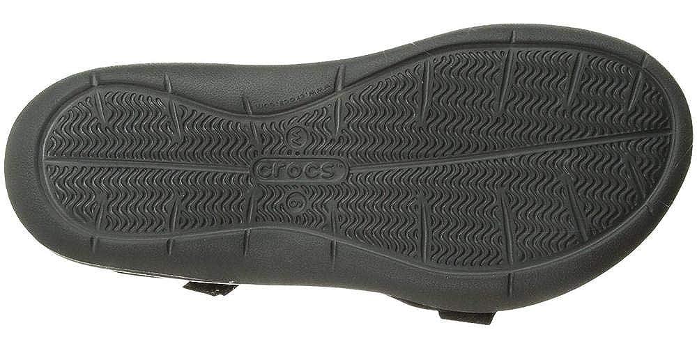 Crocs Damen Crocs W Swiftwater Webbing Sandal 204804 Zehentrenner