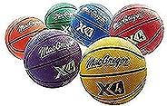 Sport Supply Group MacGregor Junior Basketballs, Multicolor Prism Pack