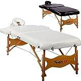 MOVIT® Deluxe Massageliege inkl. Tasche, XXL Breite 80cm, 8cm Polsterung, hochw. Vollholzgestell, Farbwahl