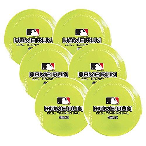 Franklin Little League Baseball (Franklin Sports MLB Home Run Training Ball (6 Pack), 22.5 oz)
