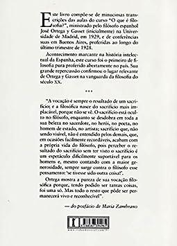 O que É Filosofia?: José Ortega y Gasset: Amazon.es: Hogar