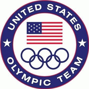 usa wrestling emblem amazoncom usa olympic team bumper sticker 5 x 5 automotive