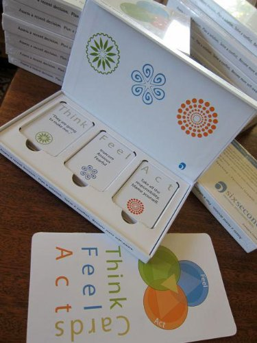 Think, Feel, Act Cards Hardcover – August 1, 2012