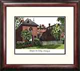 William & Mary Framed Lithograph Print